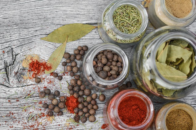 Herbs and spices in the Meditteranean Diet