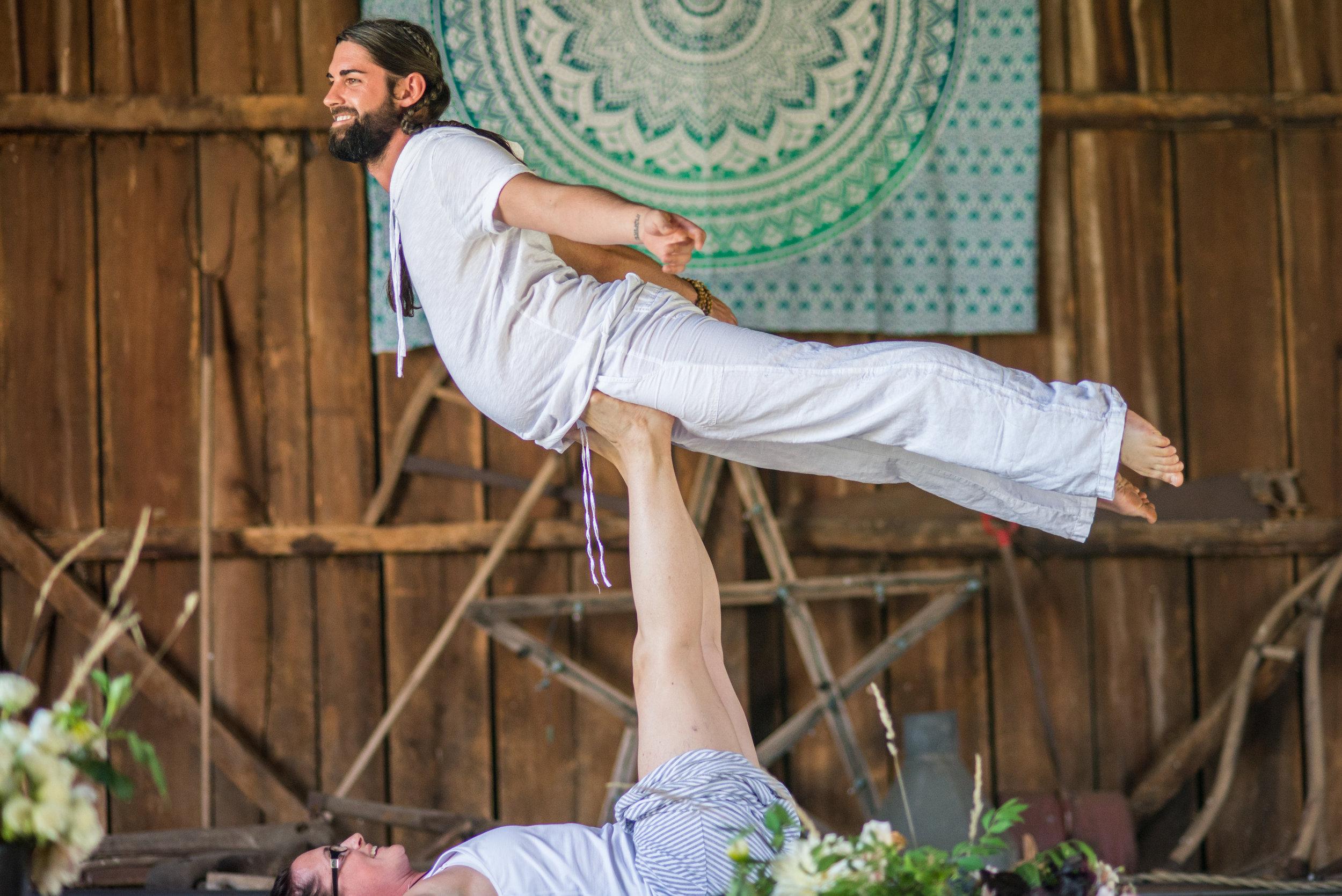 Acro Yoga Jam - Friday's in New Market