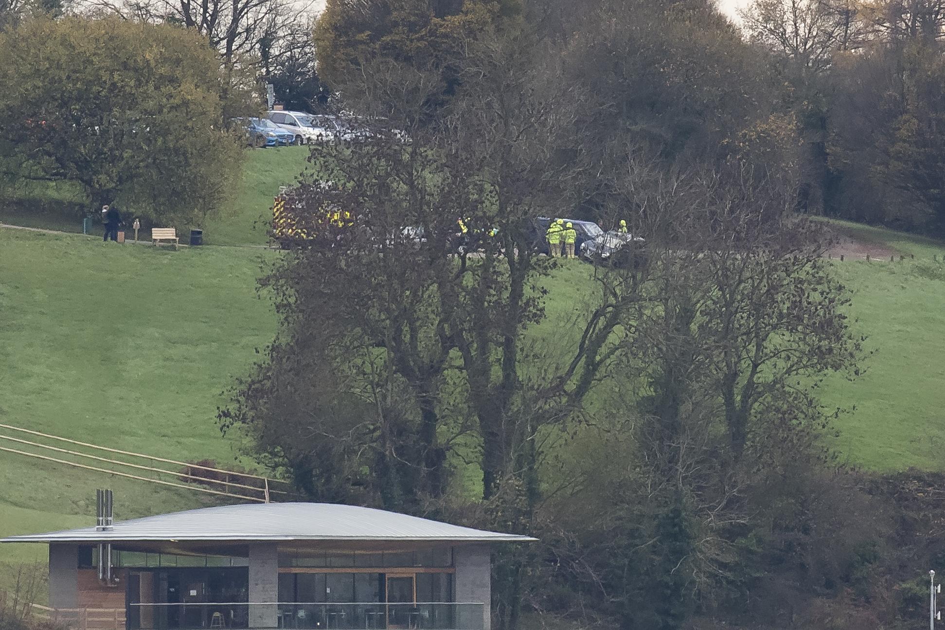 Accident at Llandegfedd 22nd November.png