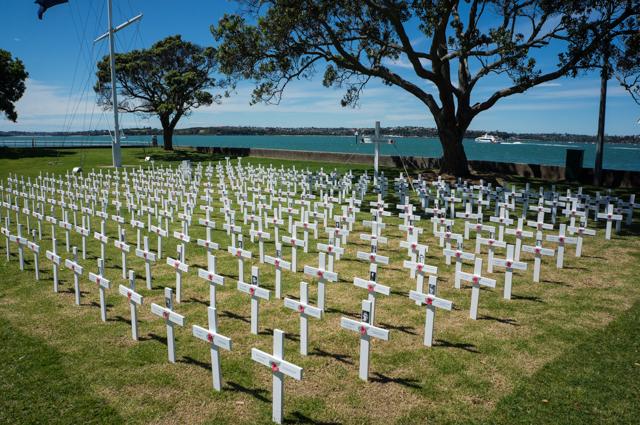 Devonport Field of Remembrance