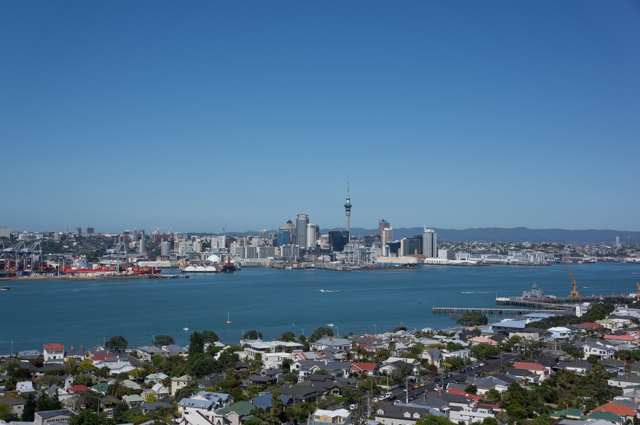 Auckland from Mt Victoria at Devonport