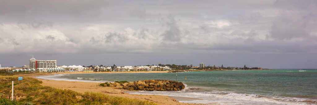 Mandurah from Silver Sands Beach