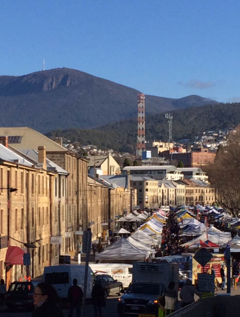 Salamanca Market – a Hobart institution!