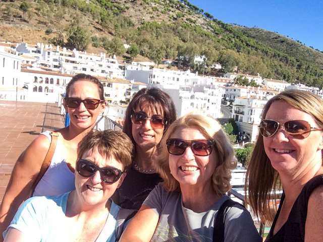 The ' Plus 1's ' out for the day in Mijas