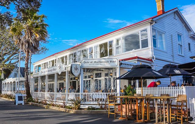 Duke of Marlborough Hotel – granted NZ's first liquor license