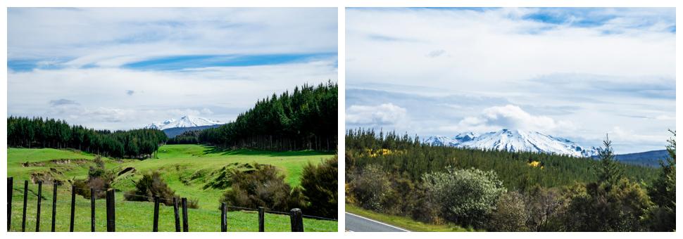 Mt Ruapehu along State Highway 1
