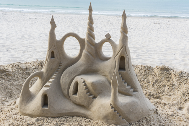 Sand Sculpture by Arron McCormick (@sandshapers)
