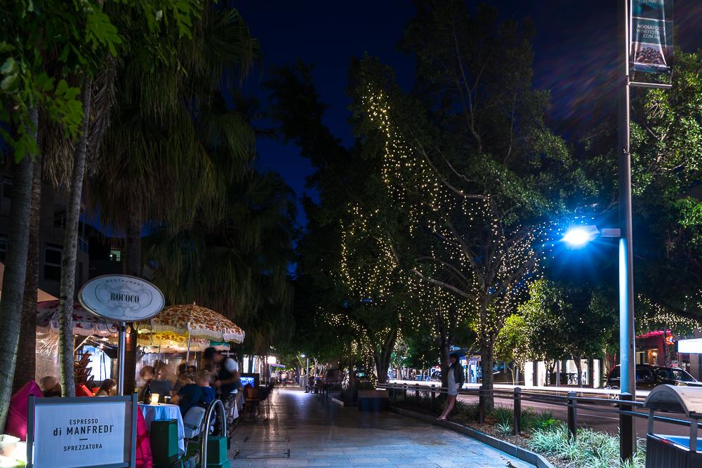 Noosa at night