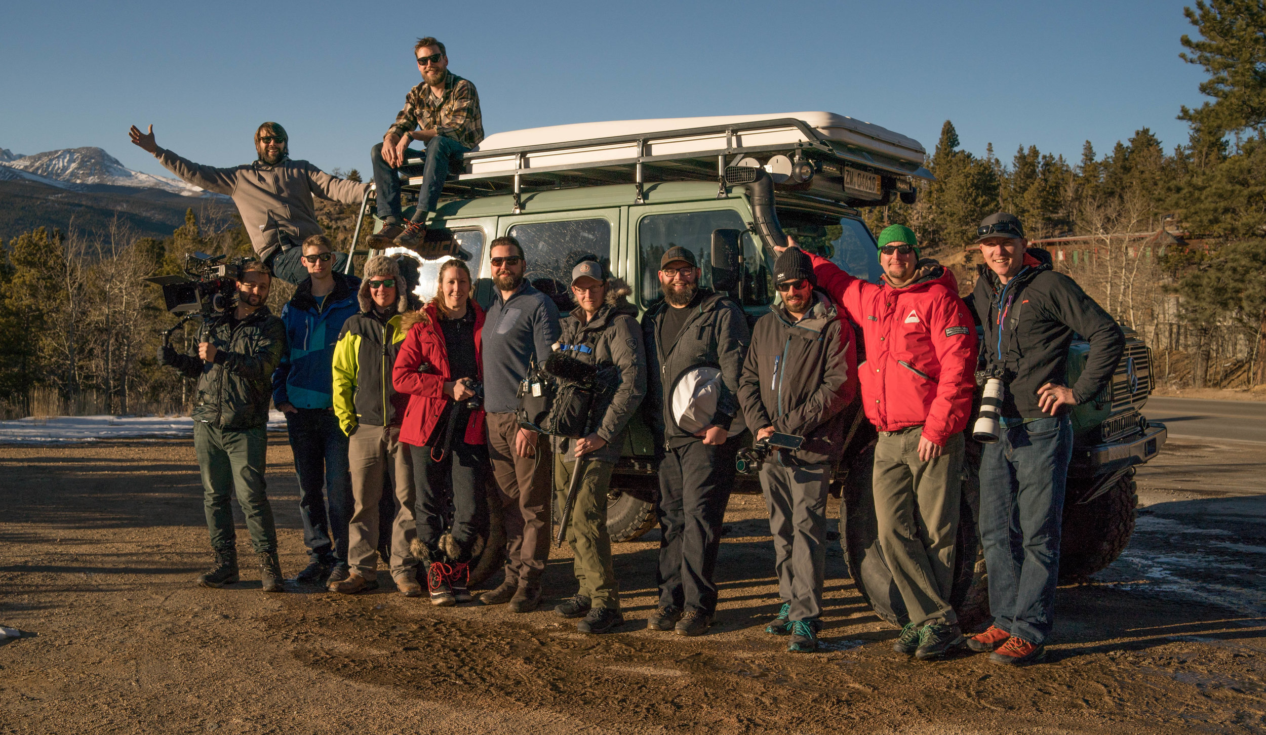 This crew came together from LA to New York, Michigan to South Carolina to gather in the mountains of Colorado.