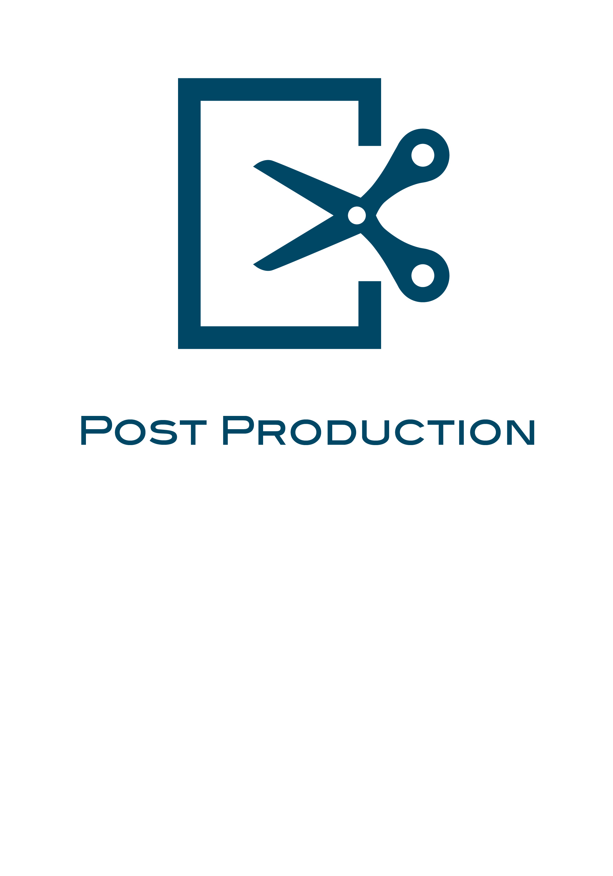 We offer a full range of post-production services, including editing, soundtrack, sound design and mixing, colour grading, compositing and video encoding.
