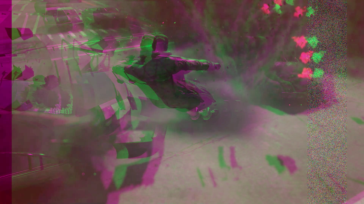 Still image from  Nina Fukuoka's new piece  and video collaboration with Christopher Salvito.