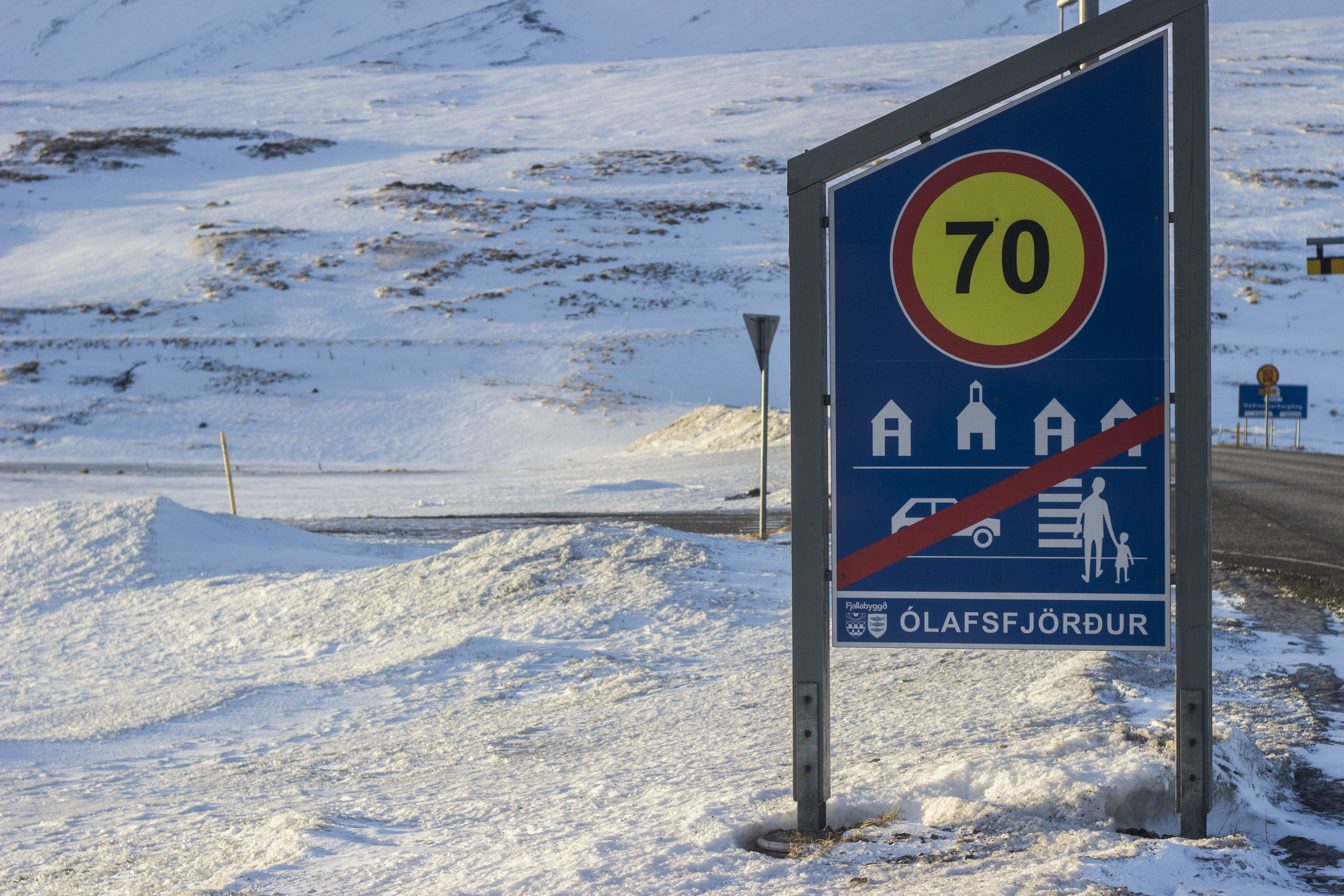 Leaving Ólafsfjörður