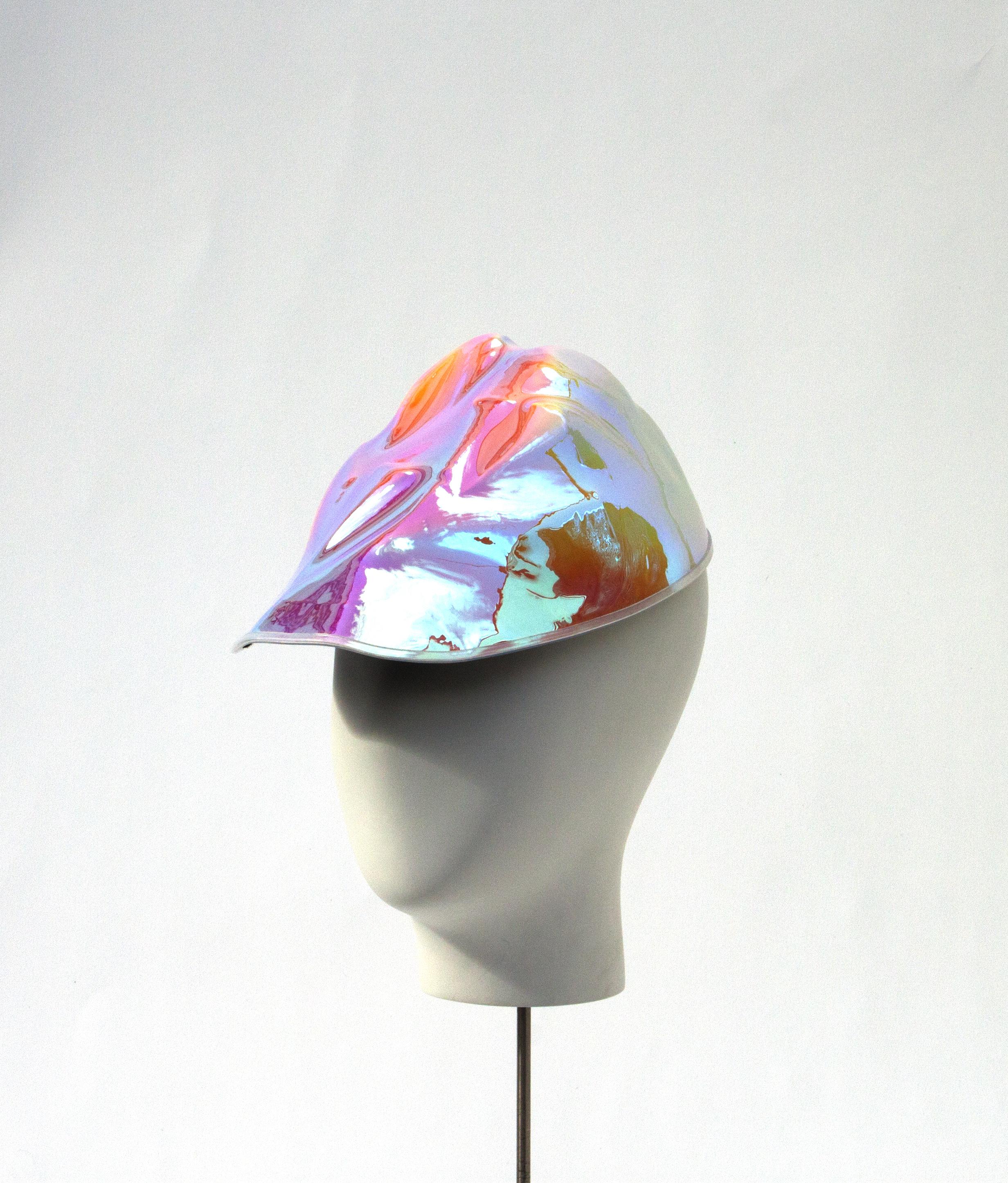 Iridescent Formed Cap