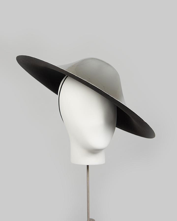 Mirror Saucer Headpiece