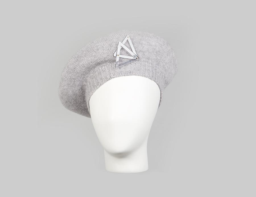 Cashmere Knit Beret