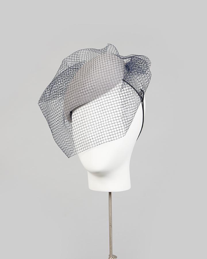 Veiled Headband Beret