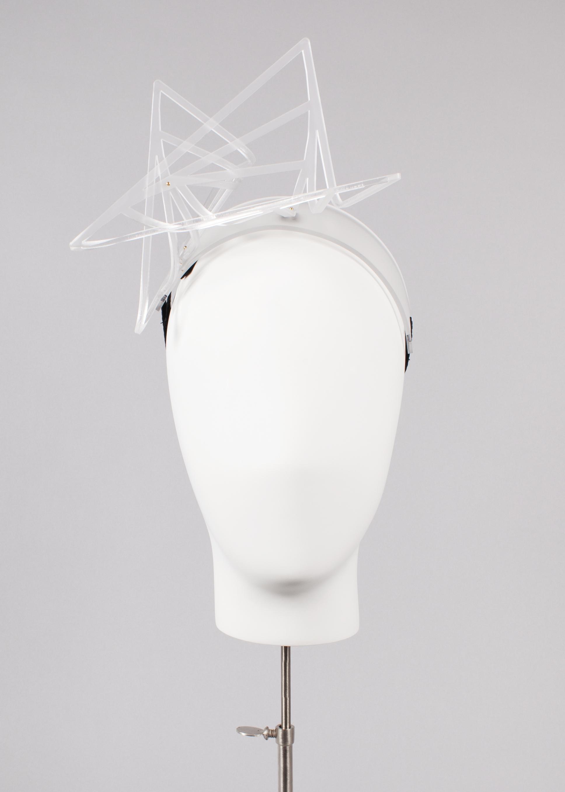 White Wave Headband