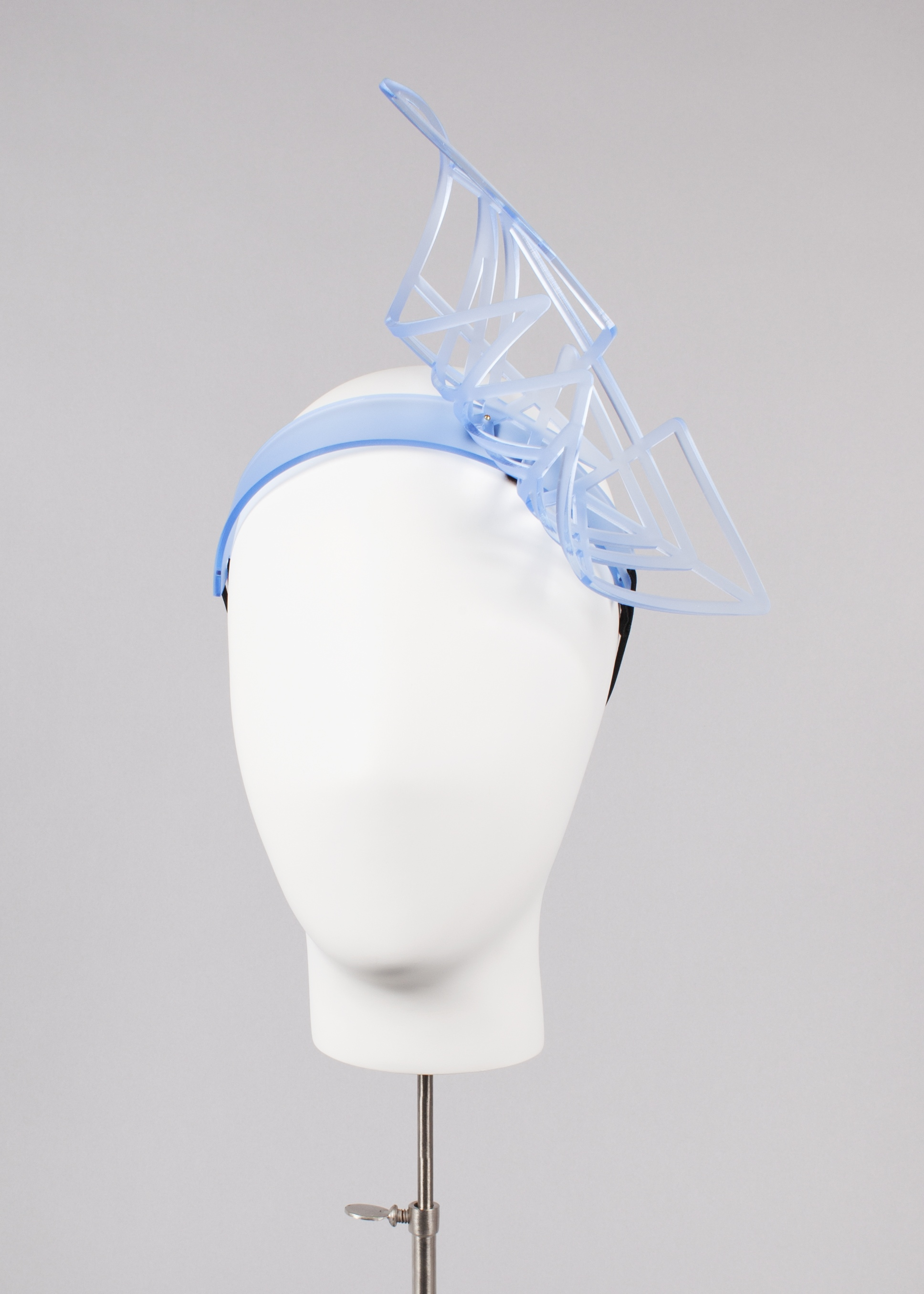 Blue Wave Curl Headband