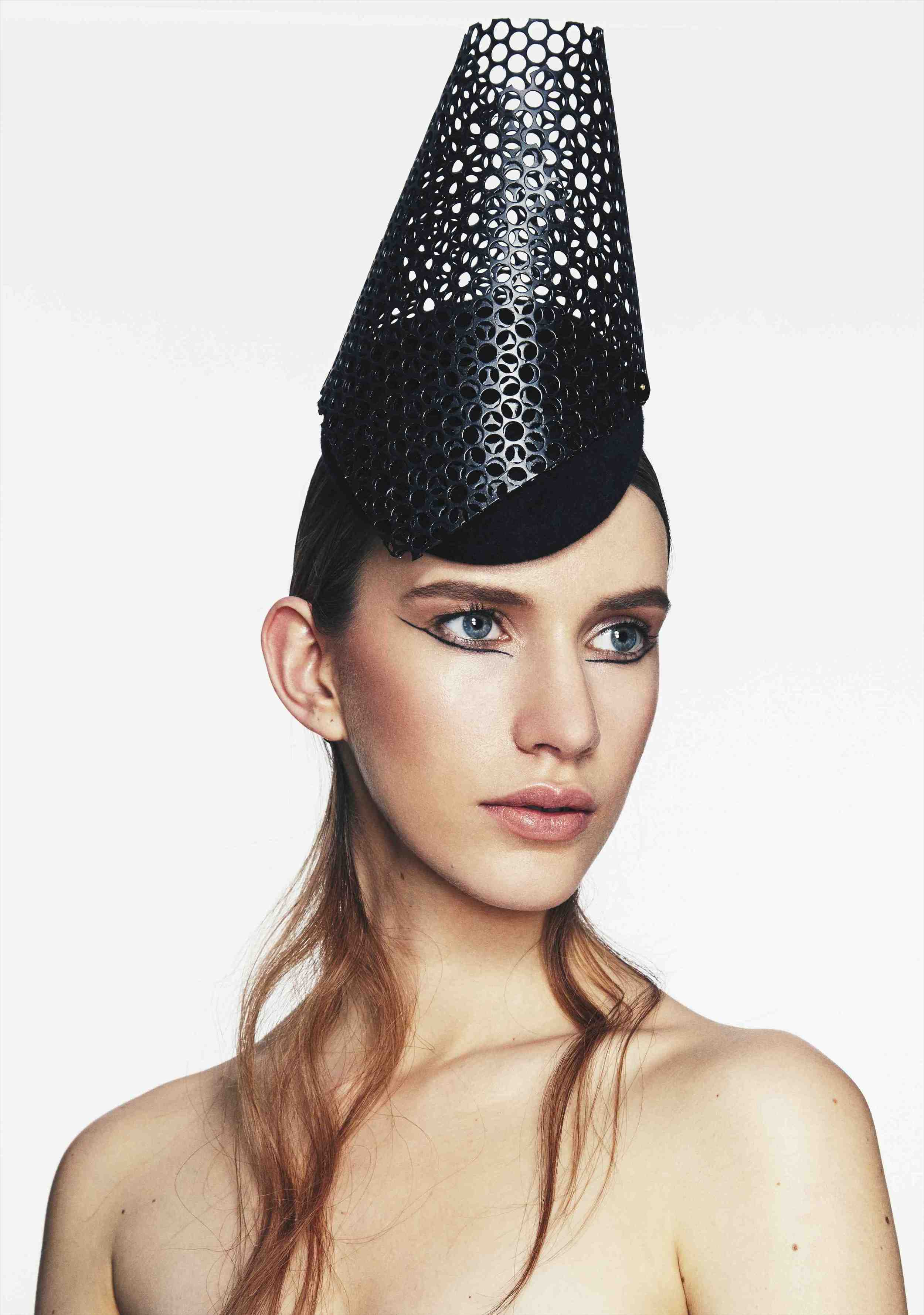 Perforated Headpiece