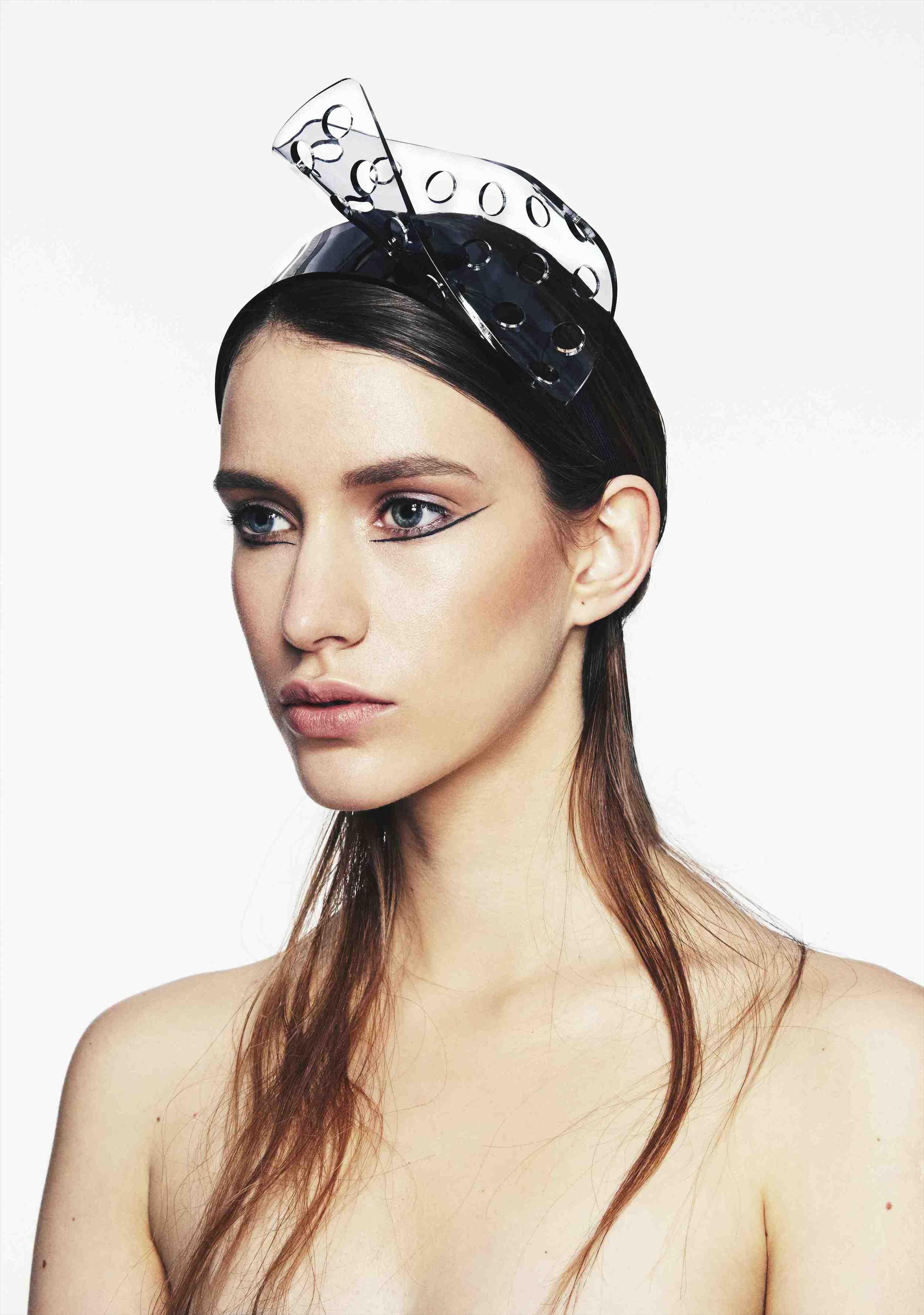 Perspex Curve Headband