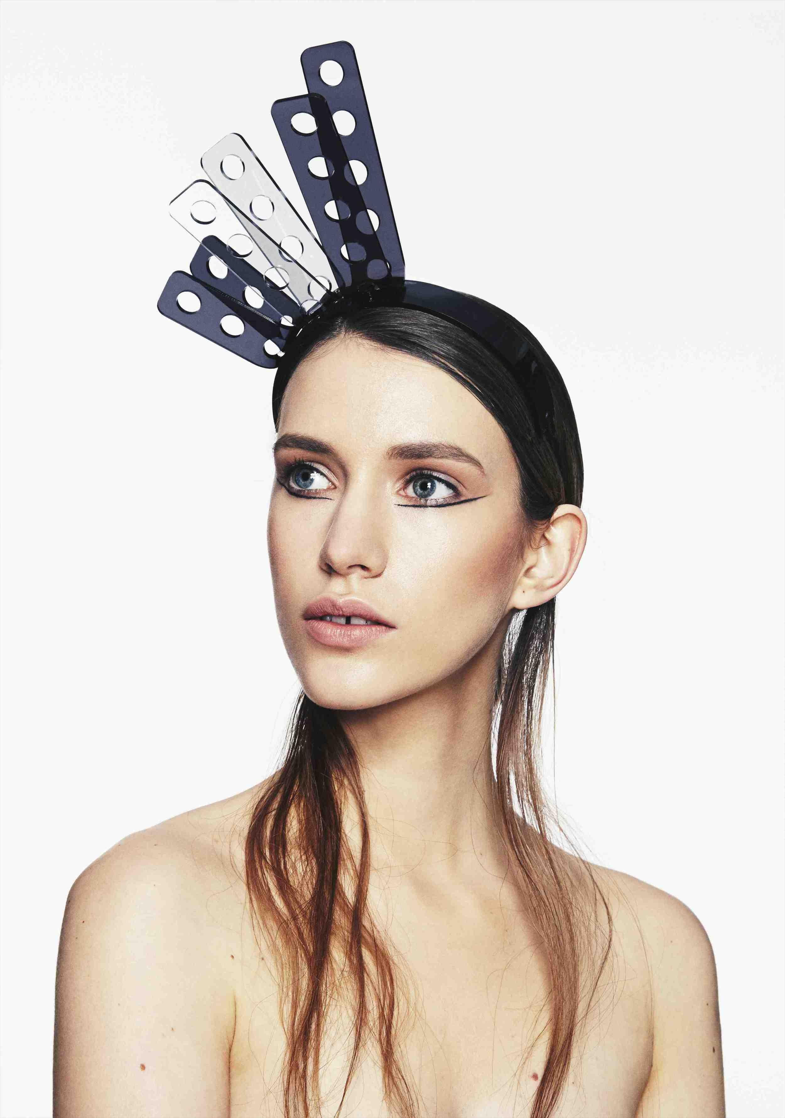 Perspex Prong Headband