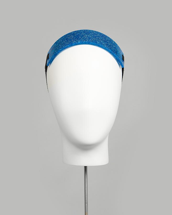 Perspex Glitter Headband