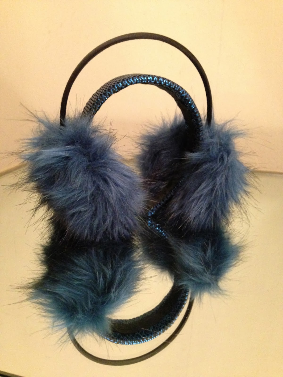 Faux Fur Ear Muffs - Kitty Joseph - Collection Presentation
