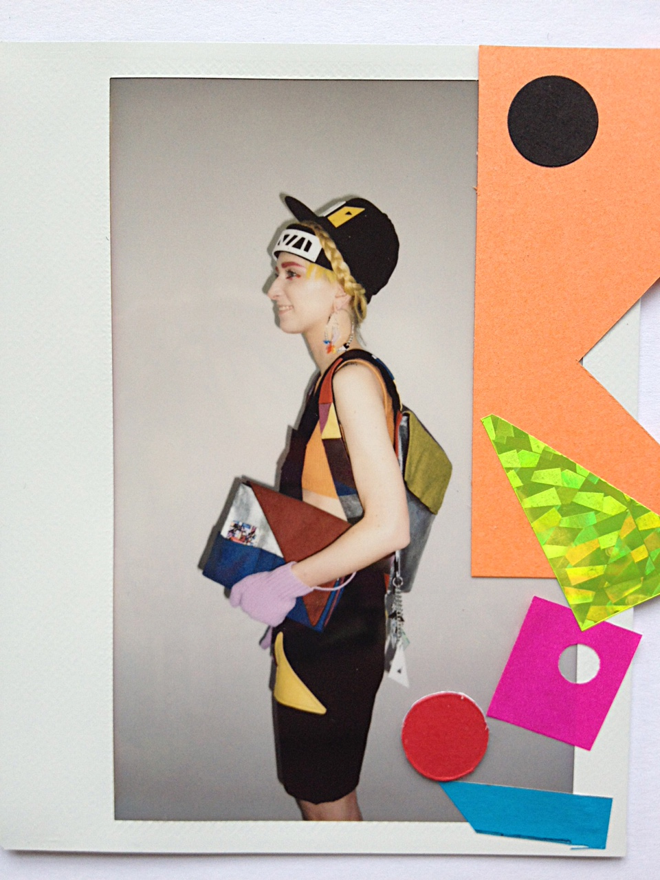 Perspex Beanie & Perspex Cap - Fred Butler - Collection Presentation