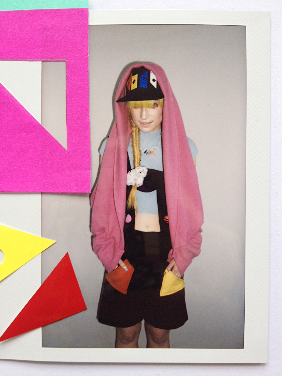 Perspex Cap - Fred Butler - Collection Presentation