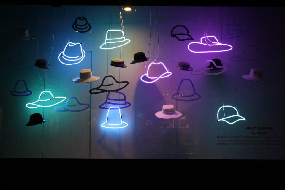 KH Millinery Window - Selfridges London - Bright Young Things Showcase