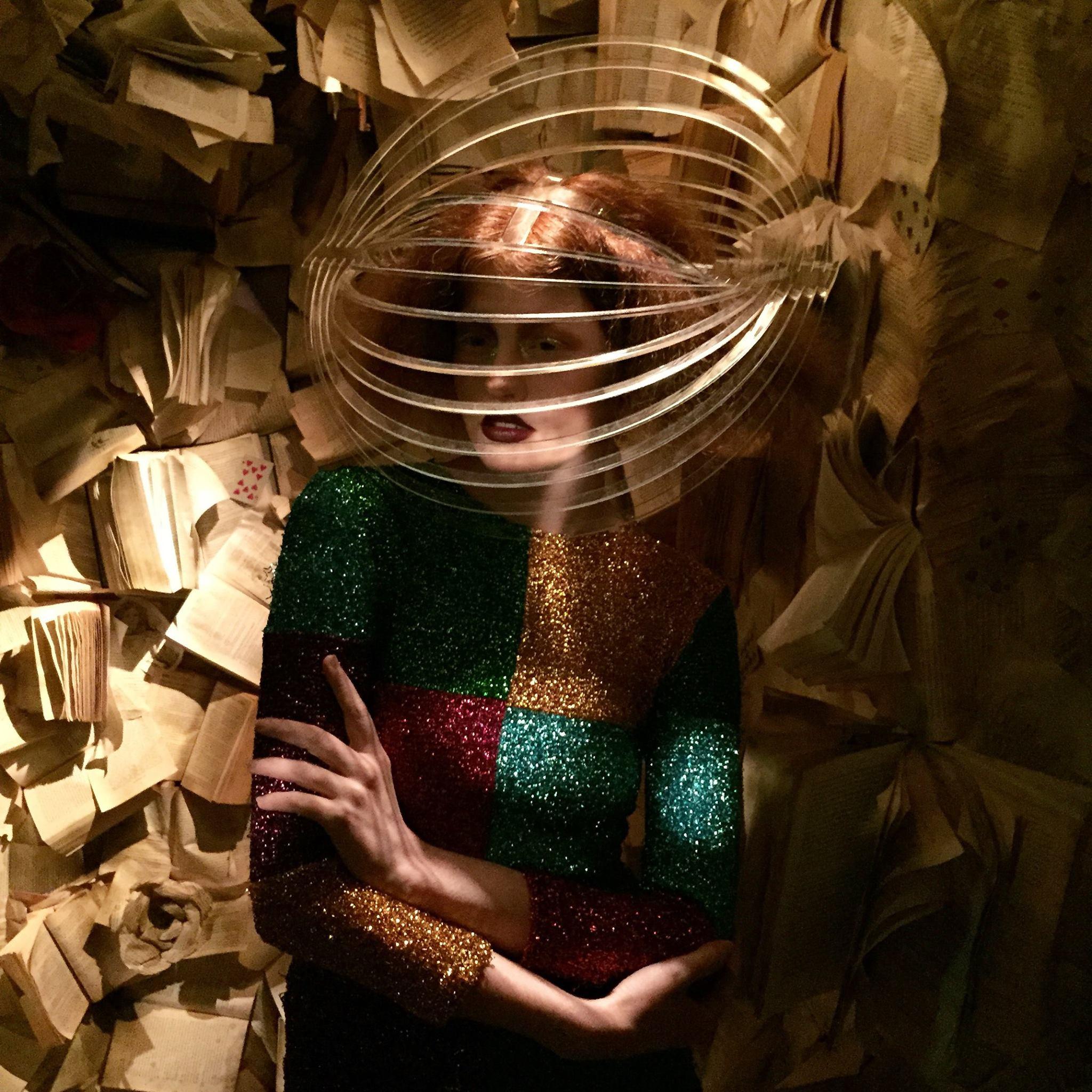 Perspex Headpiece - Wonderland Sessions - Alice Adventures Underground