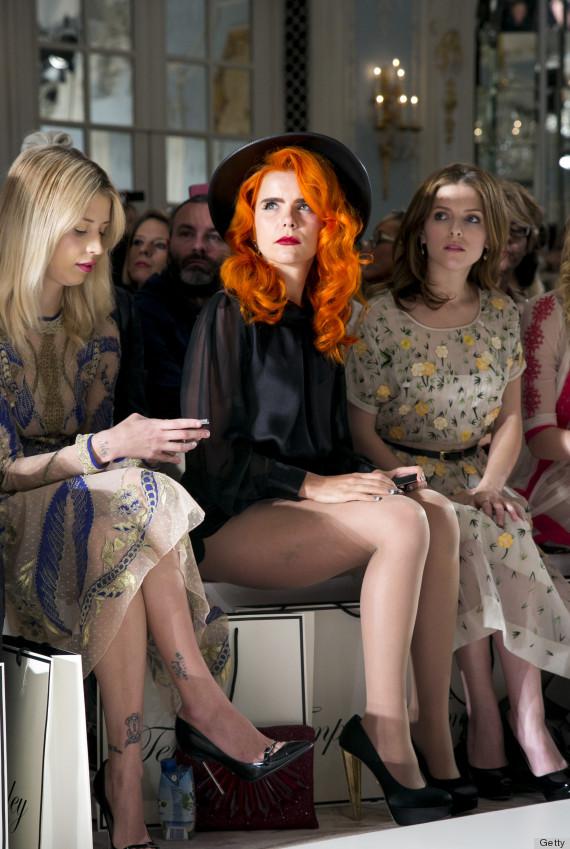 Black Formed Fedora - Paloma Faith - London Fashion Week (Styled by Karl Willett)