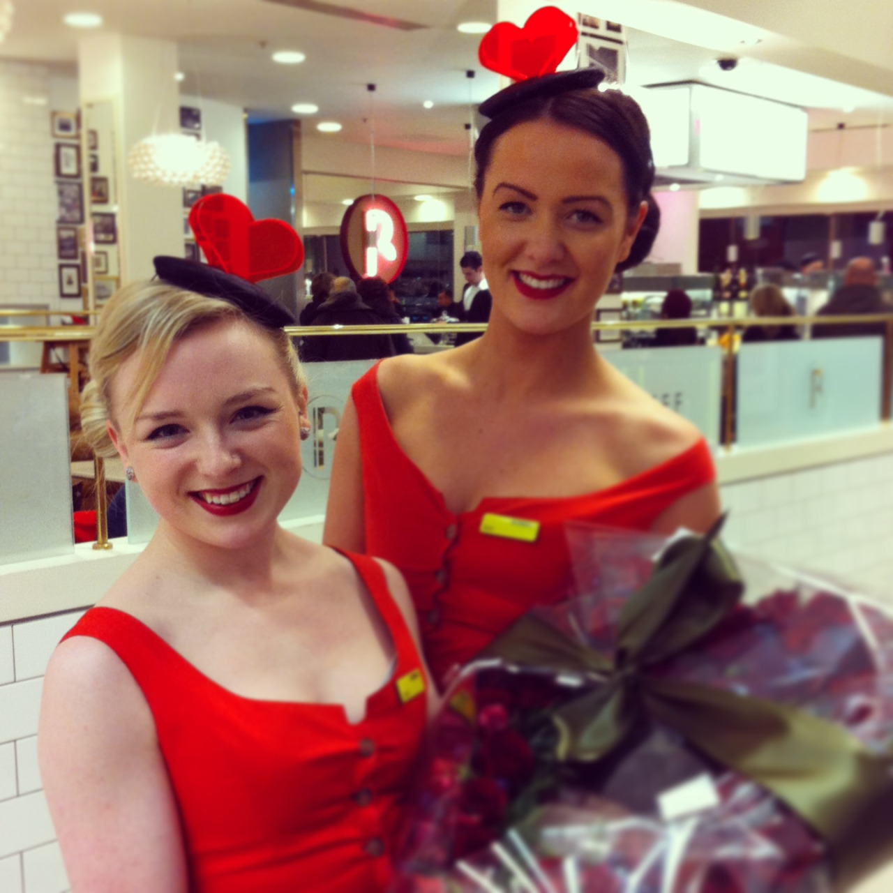 Custom Heart Hat - Valentines Day - Selfridges London