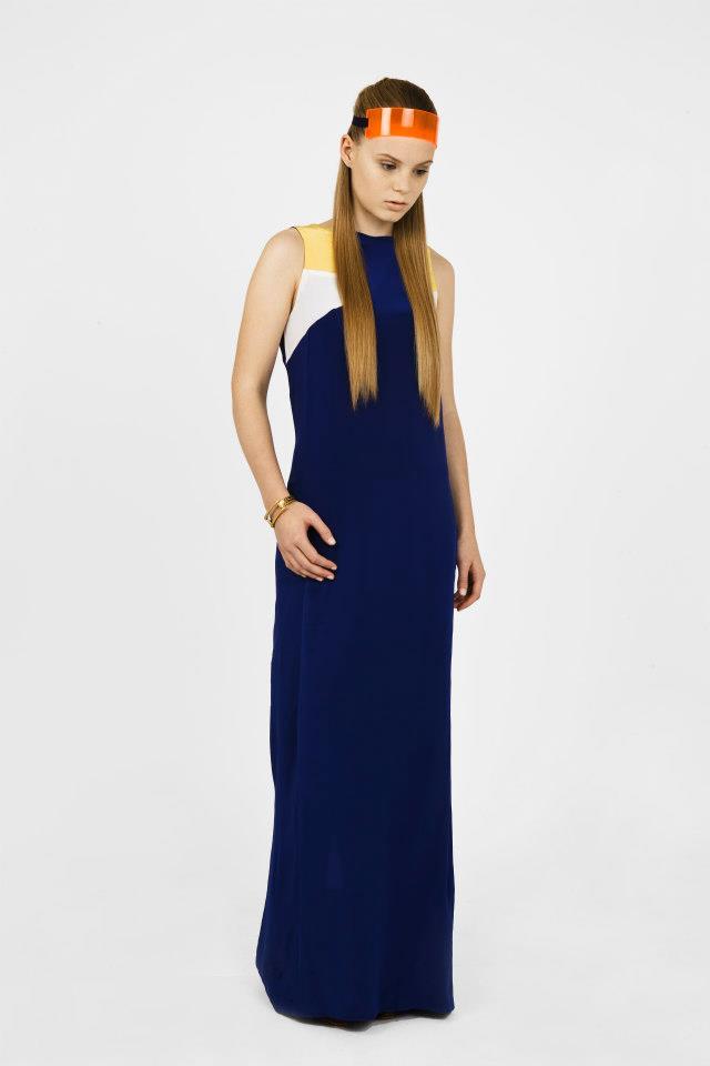 Perspex Headband - L 2 MAE Lookbook (Styled by Rachel Holland)