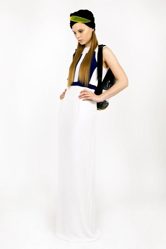 Turban Visor - L 2 MAE Lookbook (Styled by Rachel Holland)