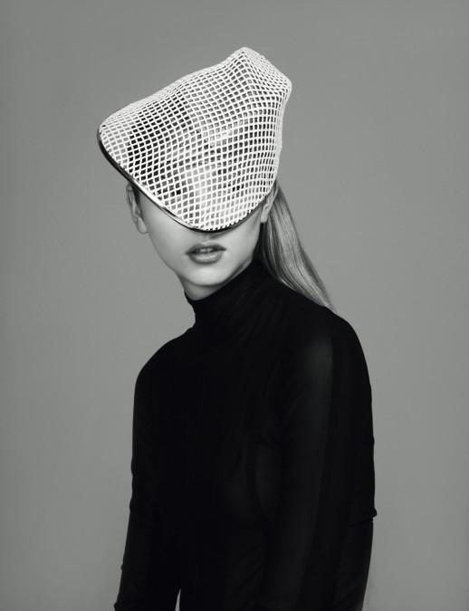 Grid Line Visor - S Magazine X Rankin (Styled by Kim Howells)