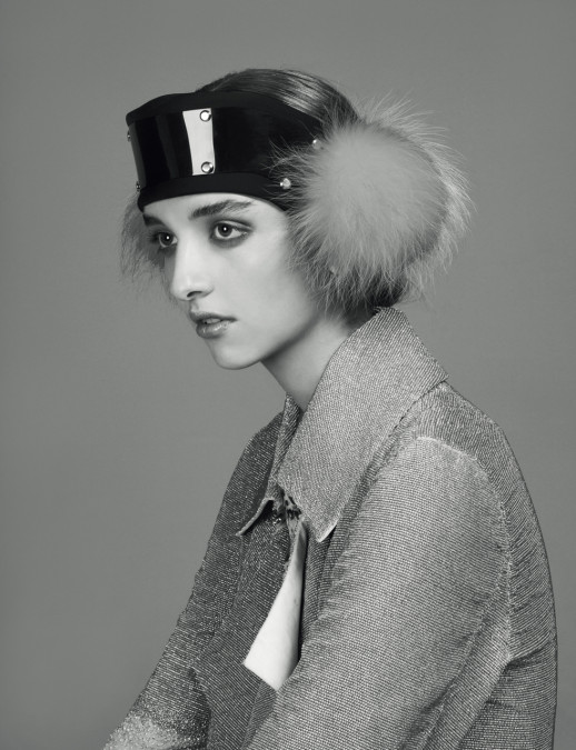 Fur Ski Band - S Magazine (Styled by Kim Howells)