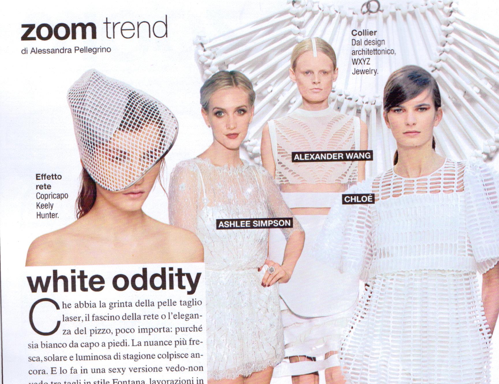 Grid Line Visor - Glamour Italia