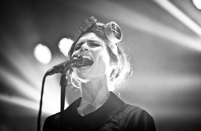 Custom Headpiece - Nina Persson (The Cardigans Summer Tour)