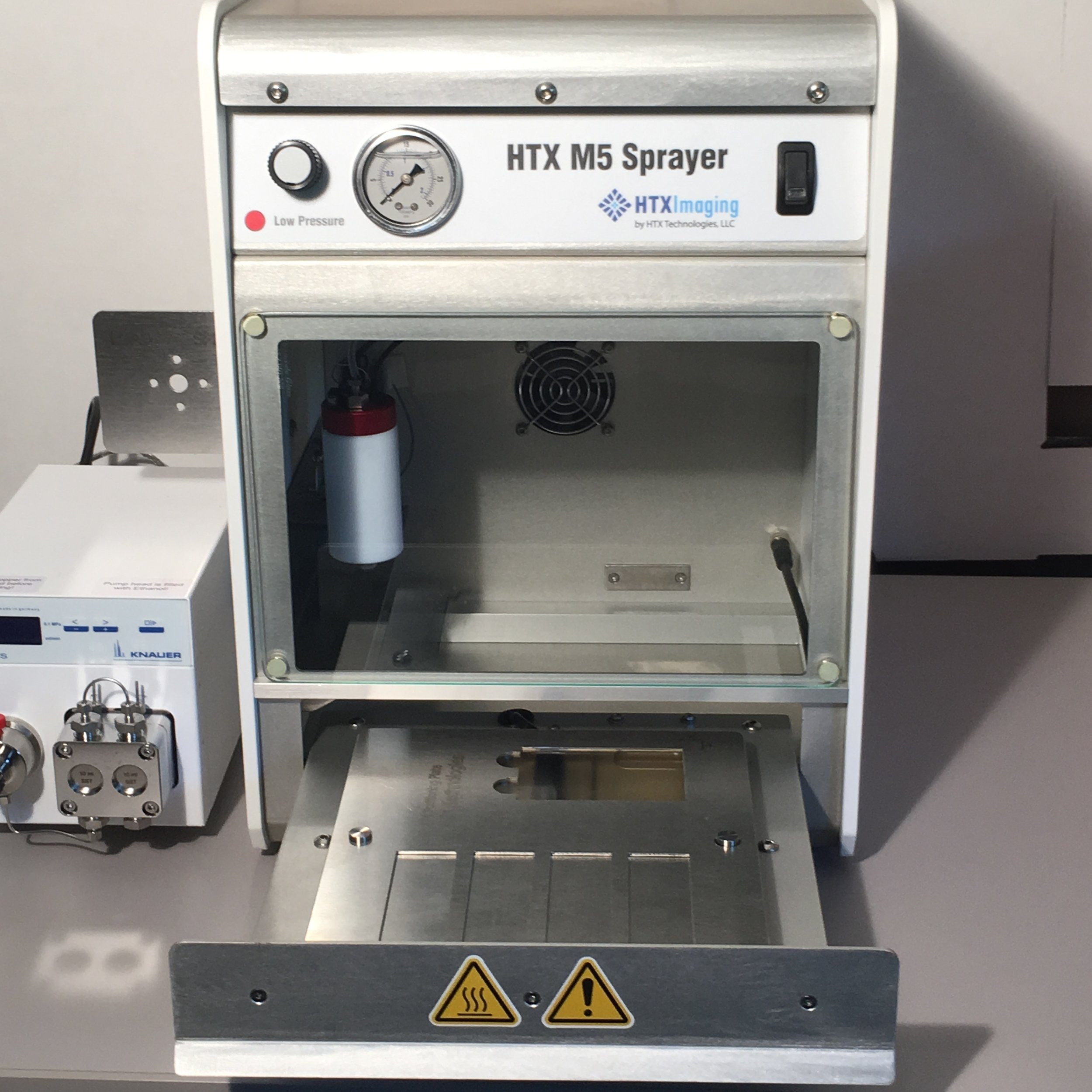 App Note #41 - Describes some of the first data acquired using the HTX M5 Sprayer heated sample tray, demonstrating improved MALDI image resolution.
