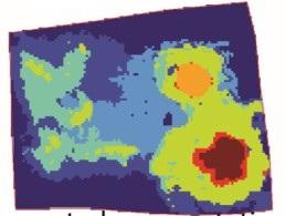 Figure 2.  SCiLS spectral segmentation of tripartite interaction