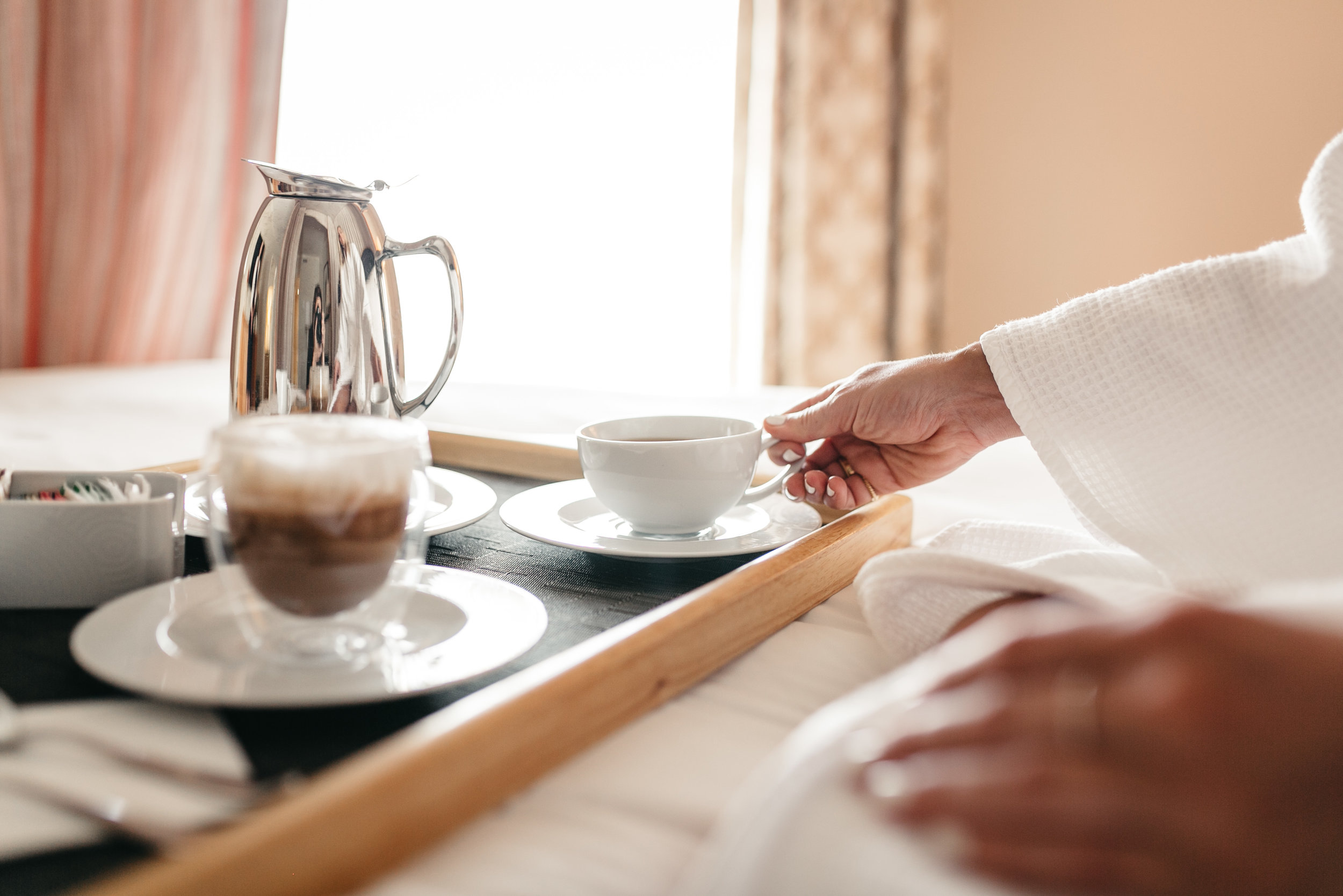 coffee rosewood hotel suite