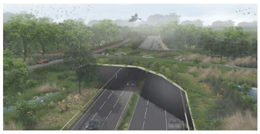 BRIDGE:  Extension of the Erie Canal Trail across I-481 in DeWitt