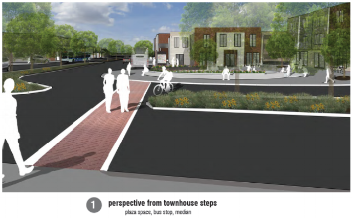 Figure 4:  Kaitlin Campbell's Proposal Street View 1