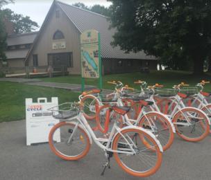 Salt Museum Bike Station