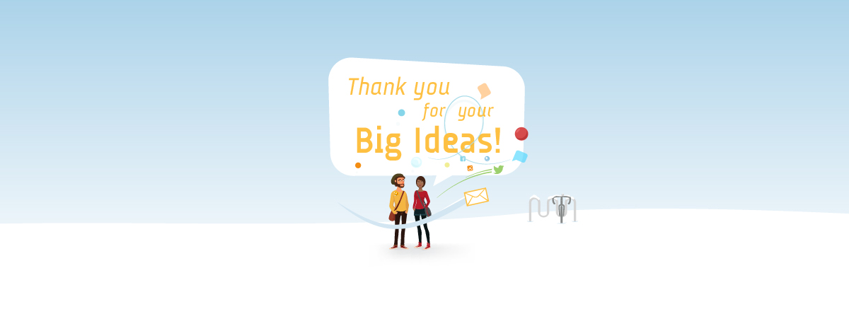 Big ideas, thanks!