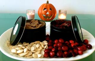 Thanksgiving Bark - Pumpkin Seed and Cranberry Bark