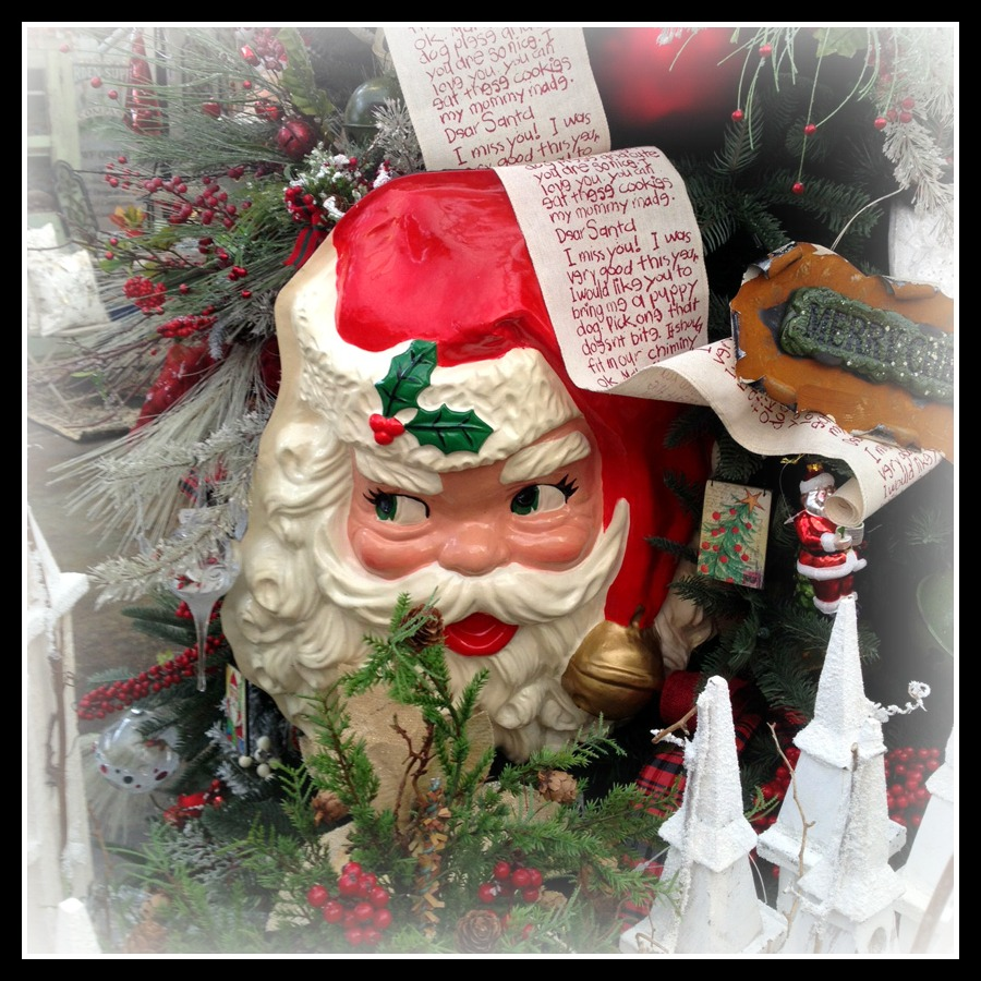 Vintage Santa- Garden Supply Co