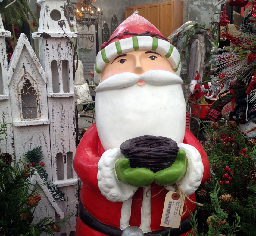 Skinny Santa- Garden Supply Co