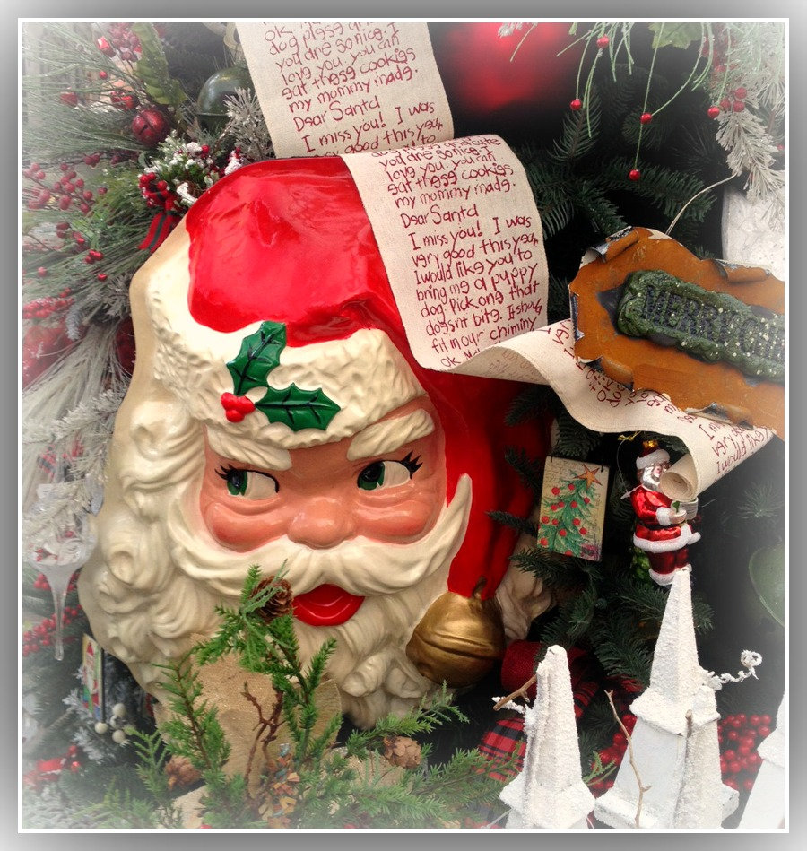 Santa Face- Garden Supply Co